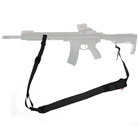 Black RATS Two-Point Sling With RED RATS Tourniquet