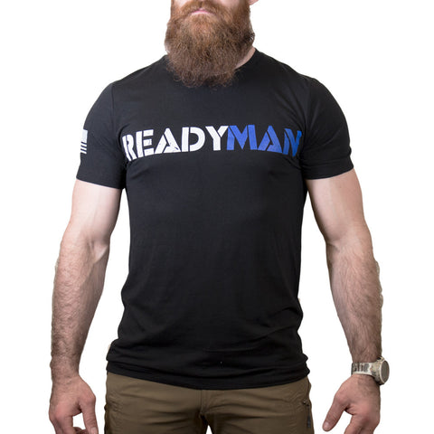 The READYMAN 2.0 - Black T-Shirt