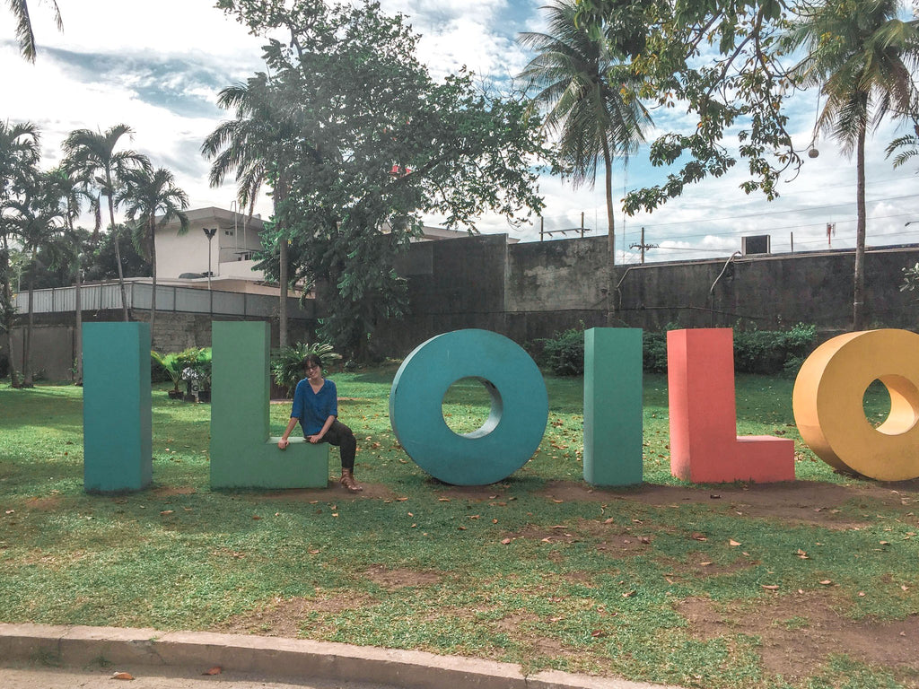 Iloilo City sign