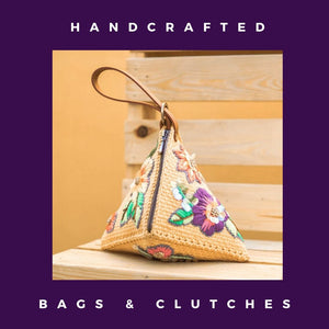 Handcrafted Bags & Clutches
