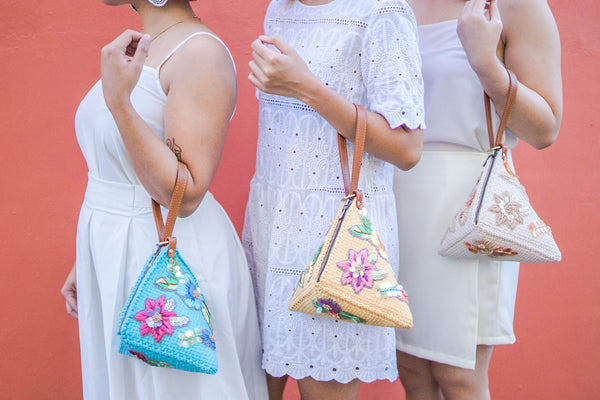 The Puso Hardin Handbag by Rags2Riches. A reminder of summer collections past.