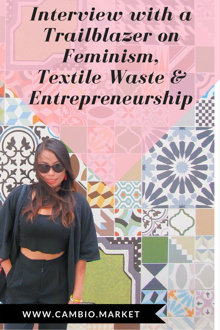 Interview with a Trailblazer: our interview with the founder of ethical fashion brand Olivia & Diego talking about feminism, textile waste, and entrepreneurship in the Philippines. What a girlboss!