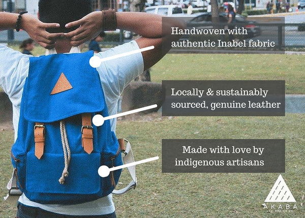 AKABA Bags are made with love by indigenous artisans