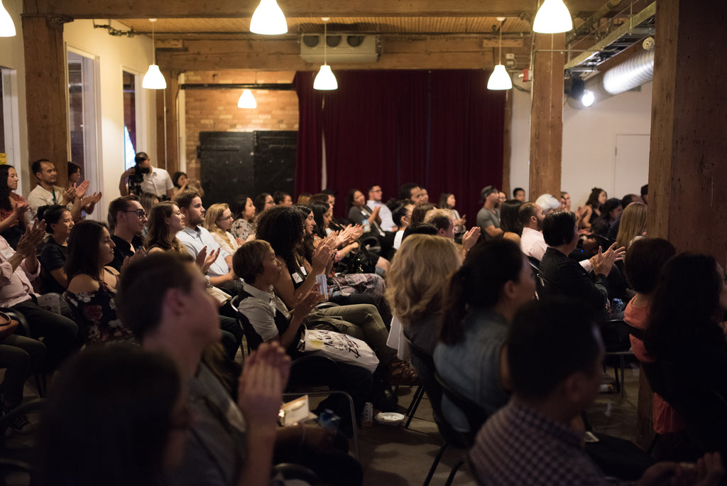 Sold-out room at Fair Trade, Fashion, and Philippines event by Cambio Market