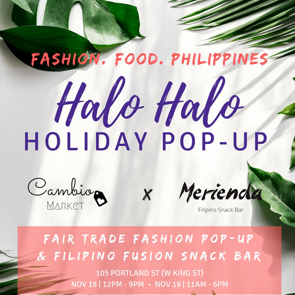 Halo Halo Holiday Popup