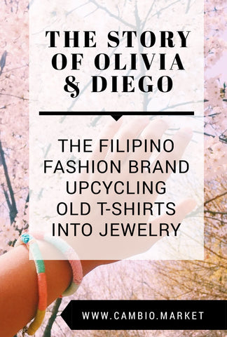 Looking for unique, fair trade jewelry that's ethically made and affordable? Olivia & Diego is a sustainable fashion brand from the Philippines creating upcycled jewelry from secondhand T-shirts. These vibrant, colourful pieces evoke tropical vibes mixed with contemporary style for the conscious shopper. Find out how the jewelry is made, and the inspirational story behind this growing social business. Click to read the story.