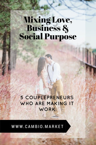 Can you mix love, business, and social purpose? These 5 creative couples are running successful startups that promote ethical fashion and conscious consumerism, while balancing romance and quality lifestyles. Talk about couple goals! Read our post for inspiration and business advice from these 5 entrepreneurial and socially conscious couples.