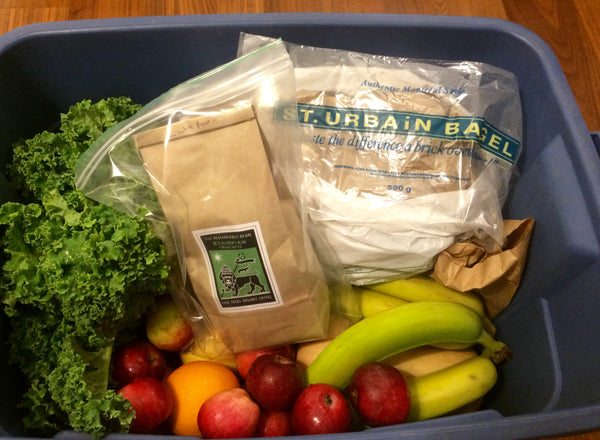 Basket from Mama Earths Organic