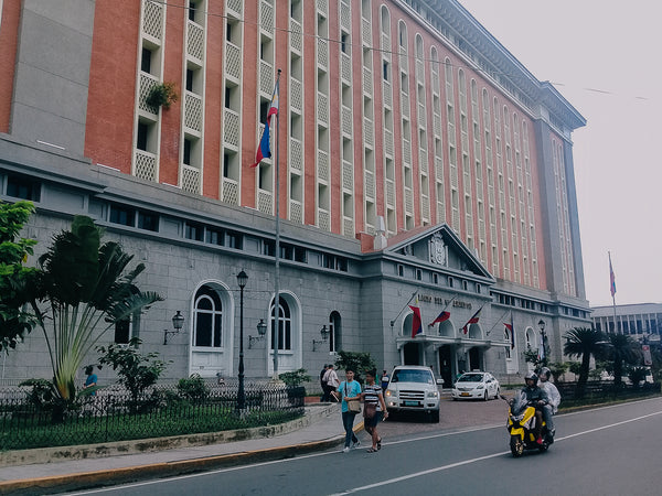 Palacio del Gobernador, the former governor general's palace and current Commission on Elections headquarters in Manila