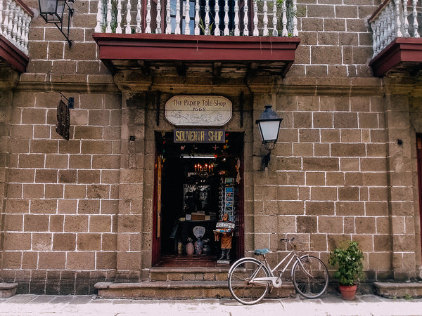 A store in Casa Manila, a historic house museum of Spanish Colonial heritage in Intramuros, Manila