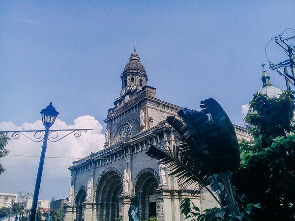 Manila Cathedral that stands at the heart of Intramuros in Manila