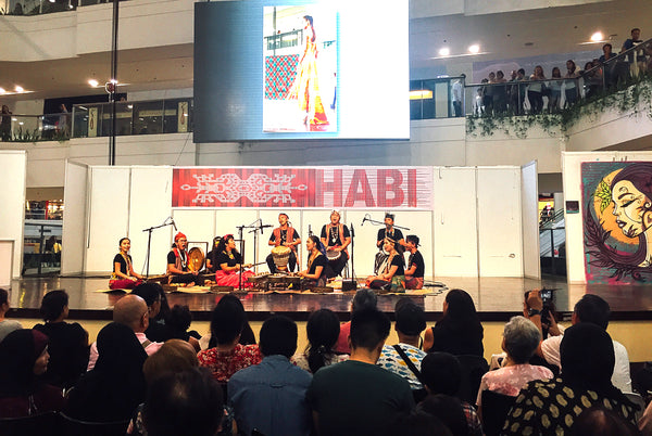 Scenes from the Habi Fair - Kontra-GaPi, a contemporary-ethnic music and dance ensemble performs onstage