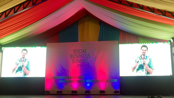 Dylan Wilk speaking at Social Business Summit 2016