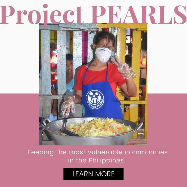 Project PEARLS is a non-profit volunteer organization feeding the most vulnerable communities in the Philippines. Learn more.