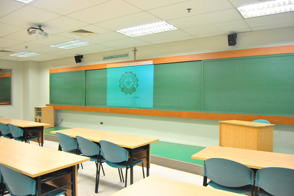 A classrom in the Philippines
