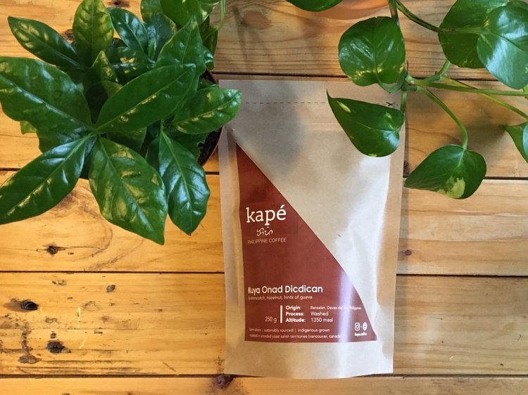 Kapé Coffee names its coffee after its partner farmers, so you always know where your beans are coming from. Photo credit: Kapé Coffee