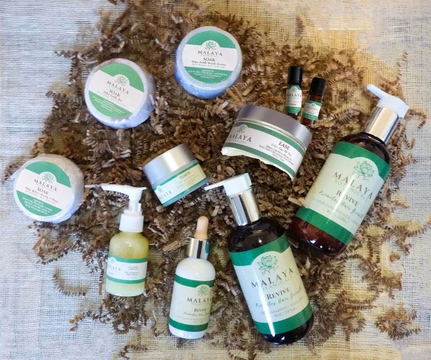 Malaya Botanicals features an extensive range of wellness products, from pain relief to skin care. Their not-so-secret ingredient? CBD!