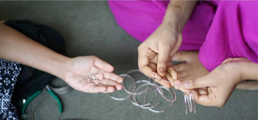 Purpose Jewelry empowers survivors of human trafficking