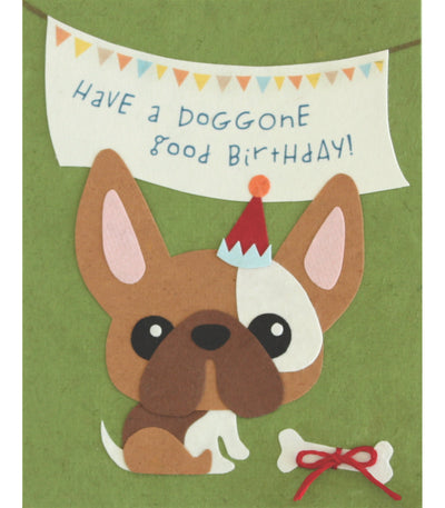 Good Paper - Doggone Birthday Handcrafted Card