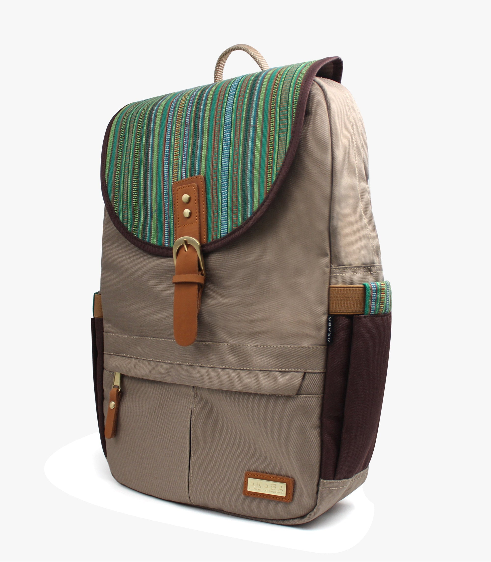 Camino Dos Backpack - AKABA - Green Side