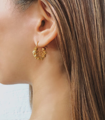 Claudia Creolla Earrings - AMAMI