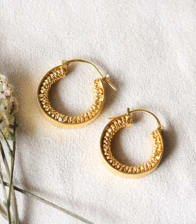 Spiral Hoops - Amami