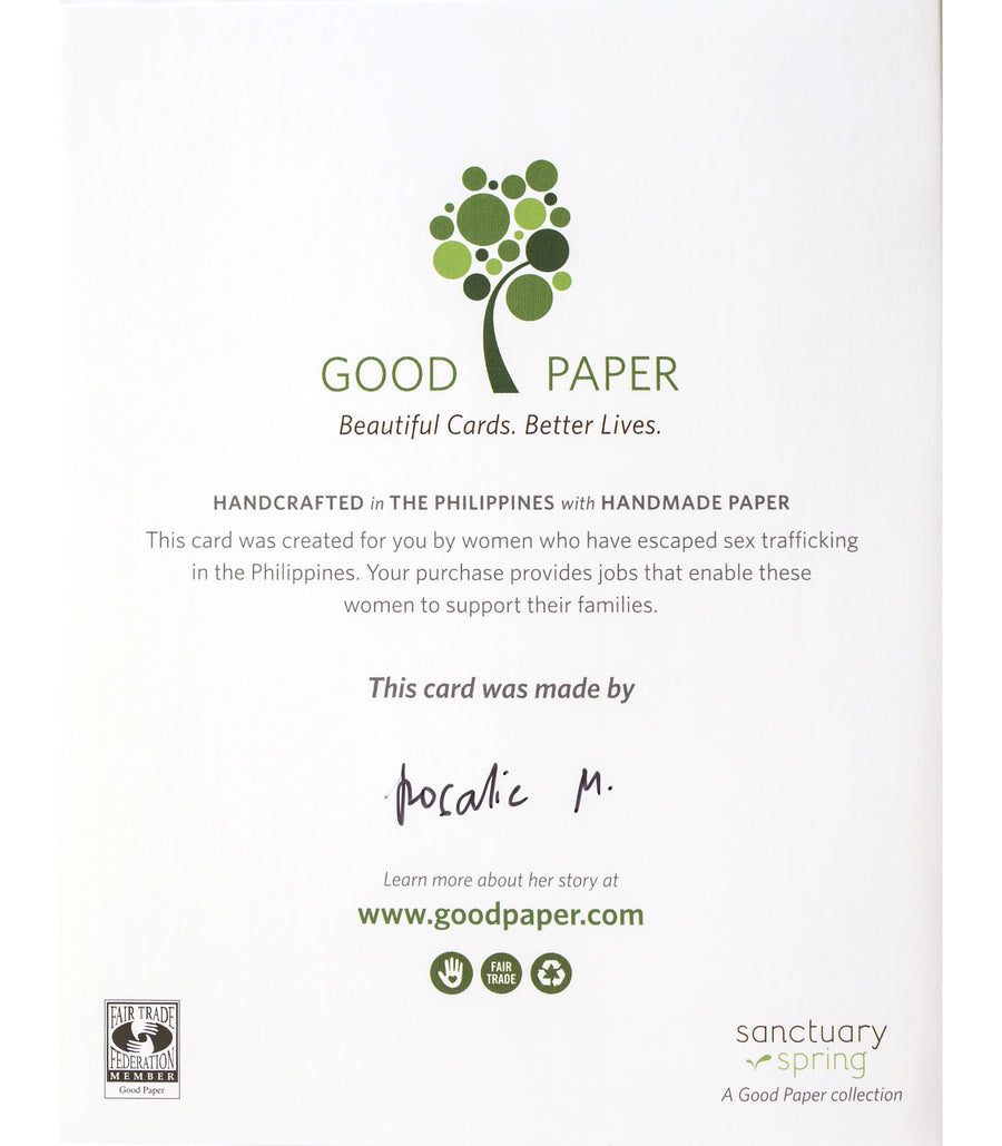 Good Paper - Smart Cookie Congrats Handcrafted Greeting Card
