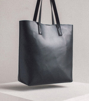 Dalisay Bayong Tote Brown Vegan Leather - Vela Manila