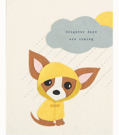 Good Paper - Brighter Days Handcrafted Card