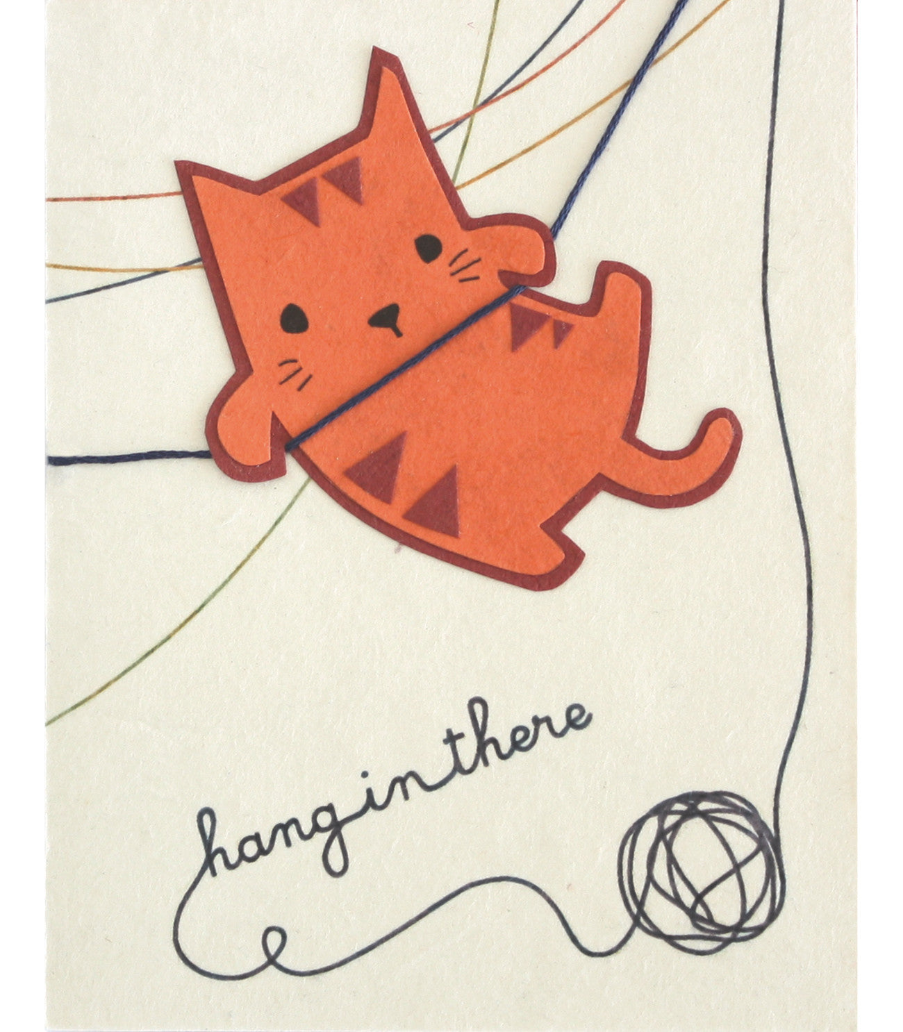 Good Paper - Hang in There Handcrafted Greeting Card