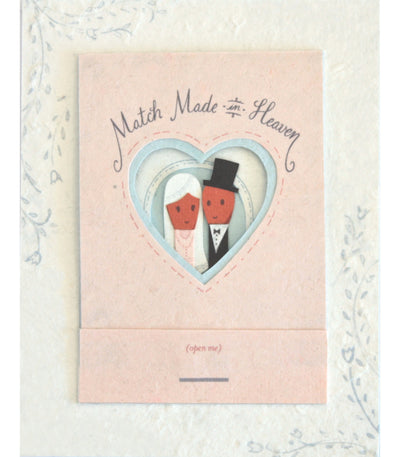 Perfect Match Wedding & Engagement Card - Good Paper