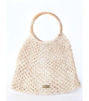 Frances Bamboo Net Tote from Habin