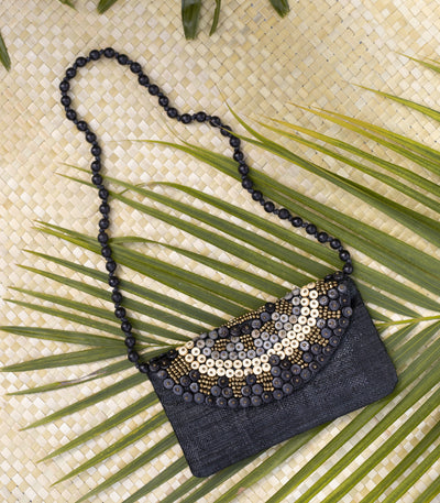 Liliana Purse in Black - Island Girl