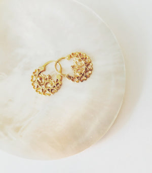 Loida Creolla Earrings - AMAMI