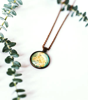 Philippines Map Necklace - TAYO
