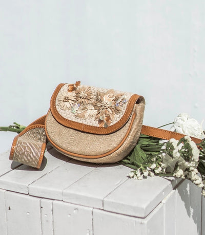 Vinia Hardin Fanny Pack in Sand - Rags2Riches