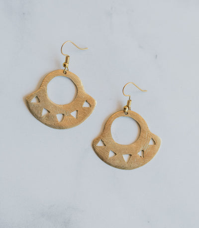 Mata K'daw Sun Earrings - Sesotunawa