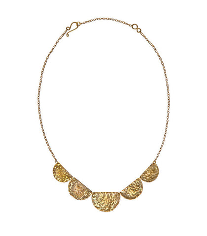 Stella Necklace in Brass - Purpose Jewelry