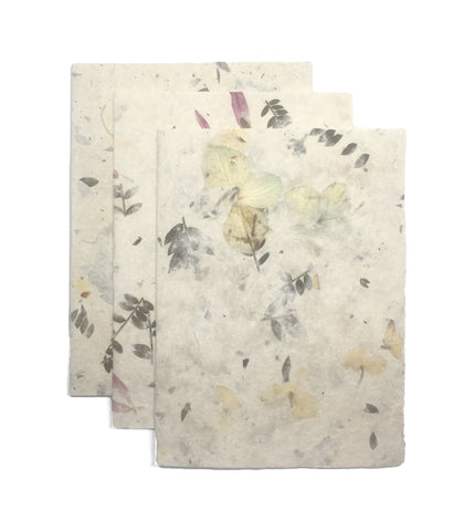All Natural Floral Cards (Pack of 3) - TIXAR