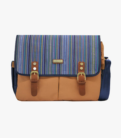Gallardo Messenger Bag in Blue - AKABA