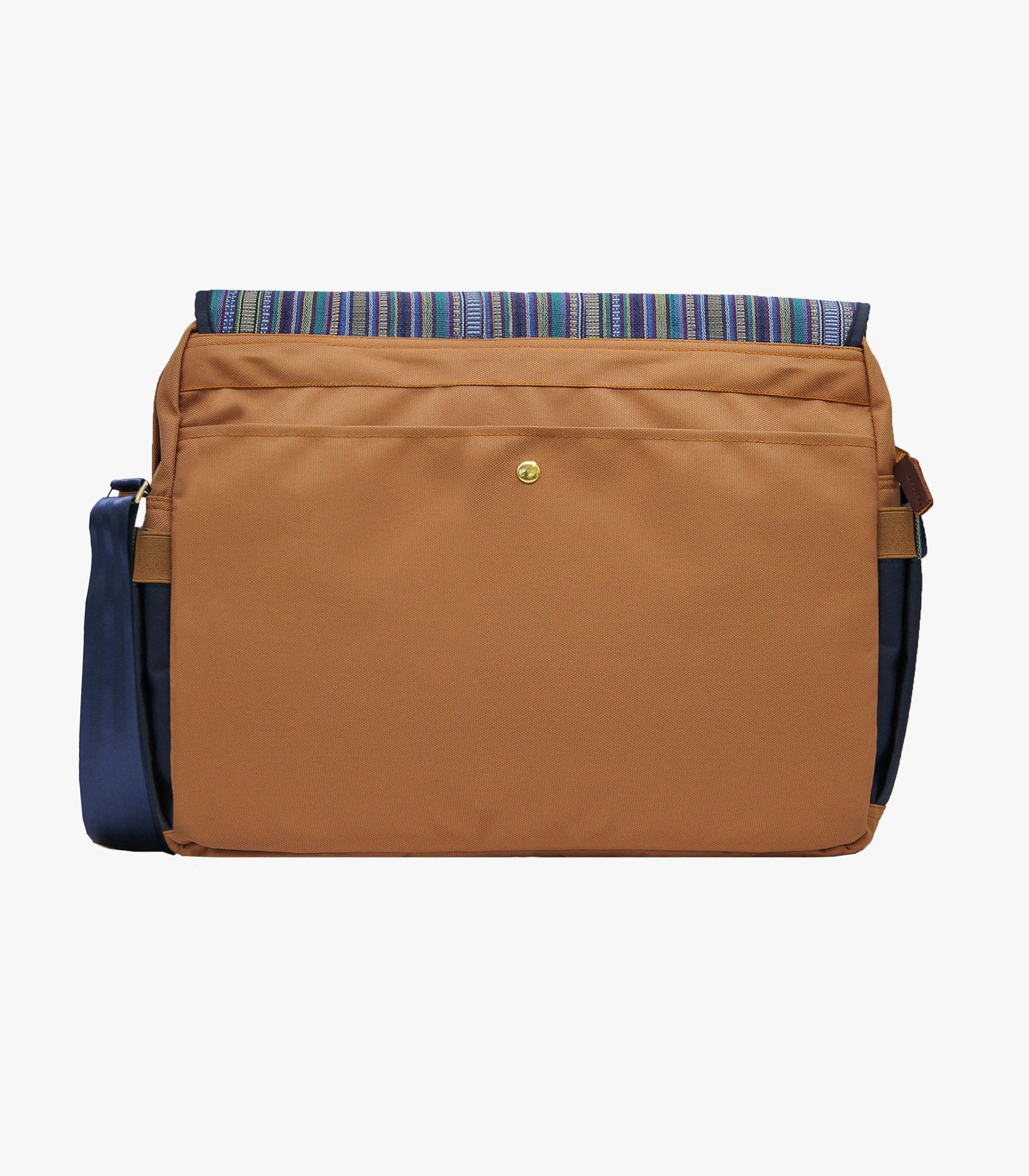 Gallardo Messenger Bag in Blue Back - AKABA