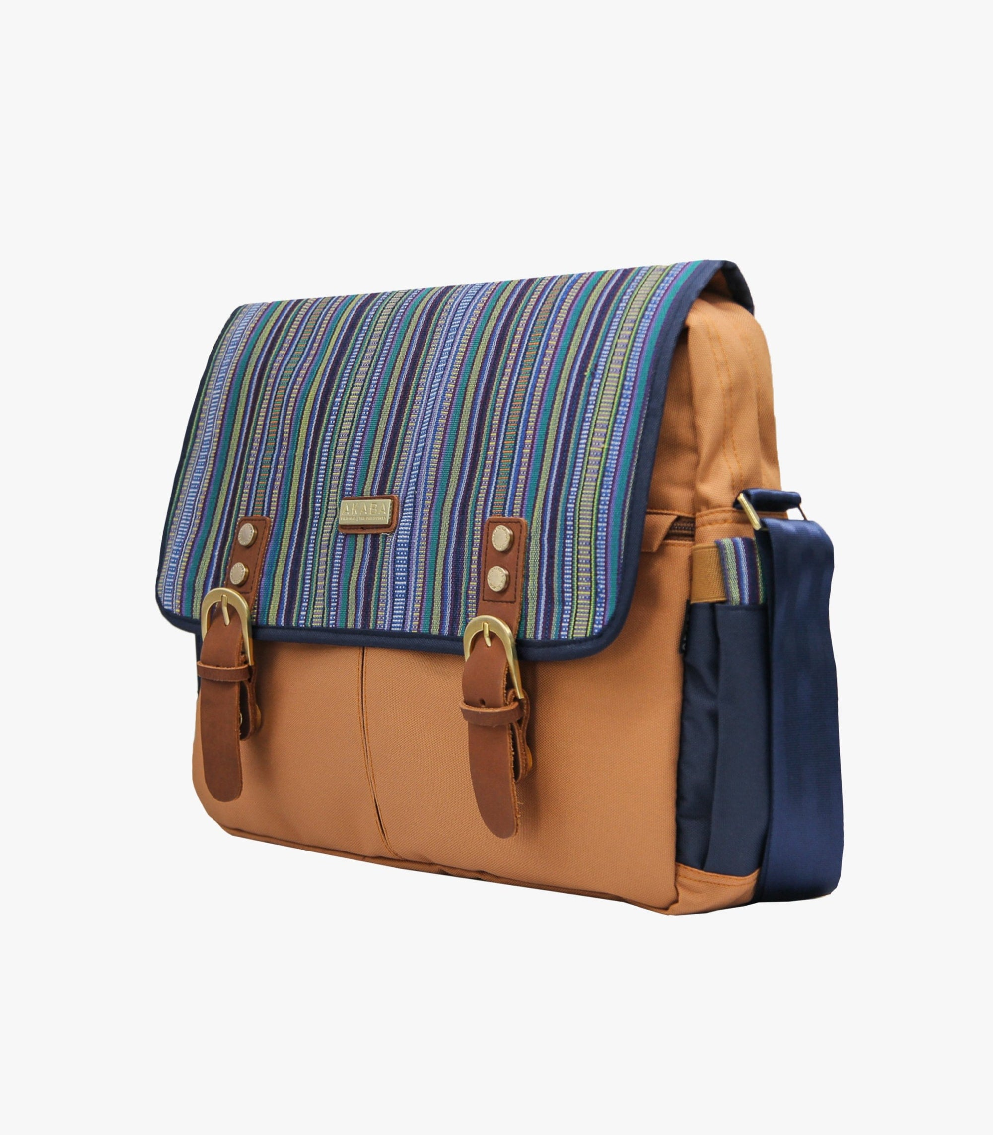 Gallardo Messenger Bag in Blue Side - AKABA