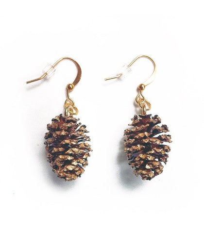 Alder Cone Earrings - Jennifer Rong Designs