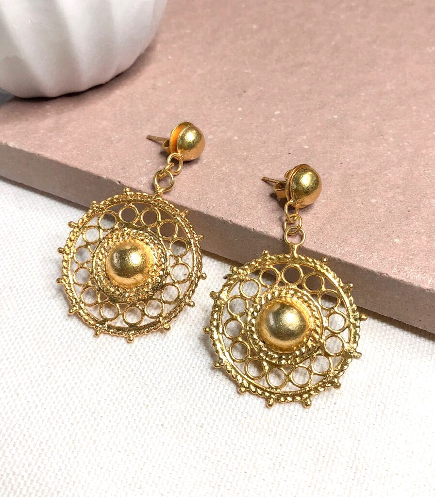 Lucy Gold Earrings