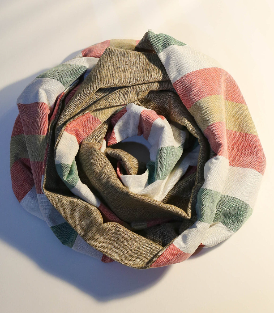 Pamana Reversible Handwoven Scarf