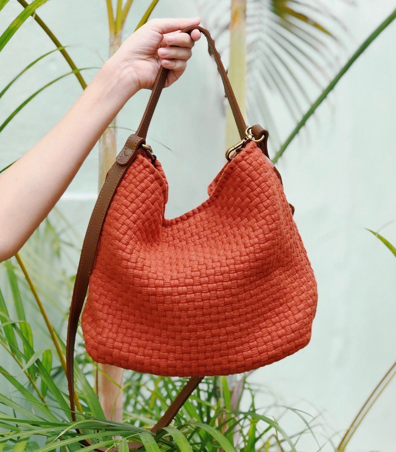 Rags2Riches Buslo Mini in Burnt Orange