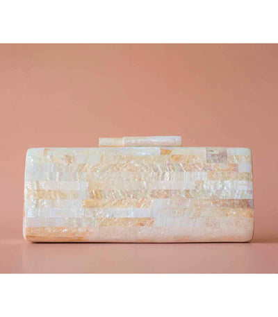 Carina Shell Clutch in Macabebe - Island Girl