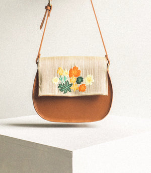 Gumamela Satchel Vegan Leather - Vela Manila