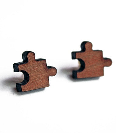 Puzzle Earrings - Jennifer Rong Designs