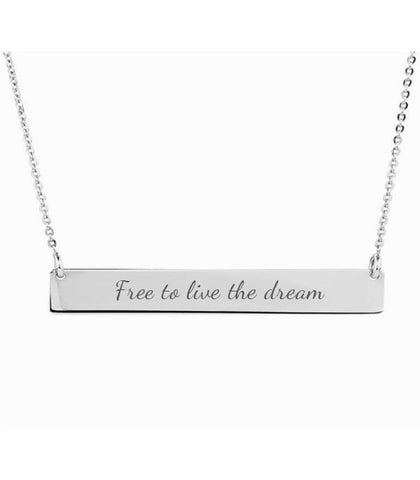 Freedom Bar Necklace - Liberti